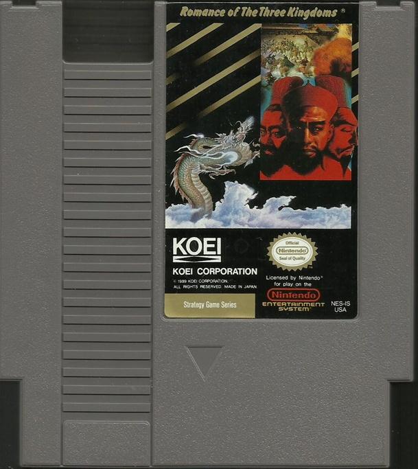 Jaguar Perfume Hong Kong: Romance Of The Three Kingdoms For The Nintendo NES System