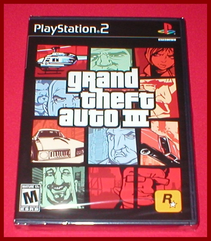 Grand Theft Auto III GTA 3 for the Sony Playstation 2 PS2 ...